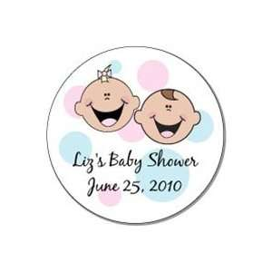LOBS6twins   Twins Baby Shower Lollipops   Set of 38 Baby