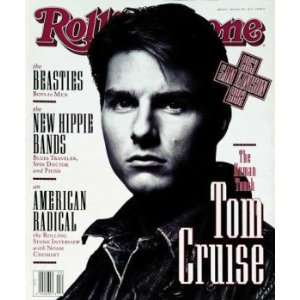 Rolling Stone Cover of Tom Cruise / Rolling Stone Magazine