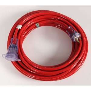 25 12 Gauge Extension Cord with Lighted Connector and Water Resistant