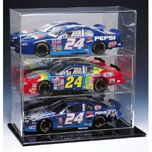 NASCAR Three Car Display Case