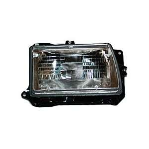 TYC 20 1768 00 Ford Festiva Passenger Side Headlight