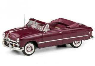 FRANKLIN MINT 1949 Ford Custom Convertible LE Diecast 1