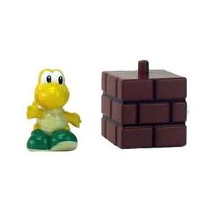 New Super Mario Bros. Koopa Troopa Figure and Brick Block