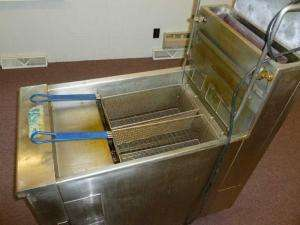 Pitco Frialator 2 Basket Commercial Food Service Kitchen Gas Deep