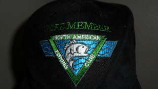NORTH AMERICAN FISHING CLUB HAT Lifetime Member Cap