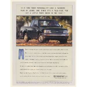 Pickup Truck Fits Like Pair of Jeans Print Ad (53223)