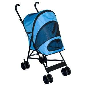 NEW Pet Gear Travel Lite Pet Dog Stroller OCEAN BLUE