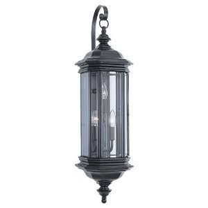 Seagull Lighting 8842 12 Three Light Hill Gate Outdoor Wall Lantern