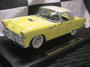 Yat Ming Road Legends Ford Thunderbird 1955 diecast model car 1/18