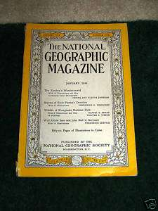 The National Geographic Magazine January 1949 Vol. XCV