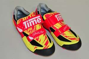 Time World Cup MTB shoes cyclocross 43 EUR NOS   yellow & red
