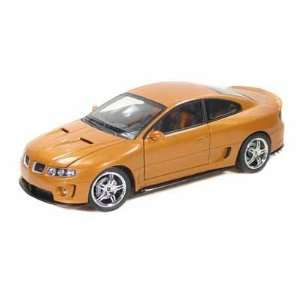 2005 Pontiac GTO Ram Air 6 1/18 Gold Toys & Games