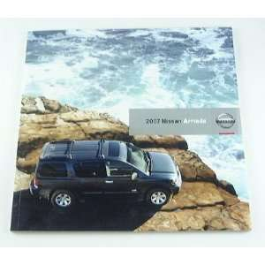 2007 07 Nissan ARMADA Truck SUV BROCHURE SE LE Everything