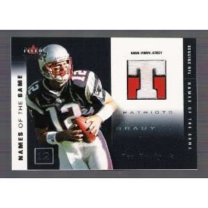 Game JERSEY Card #144 of only 500 Made New England Patriots Football
