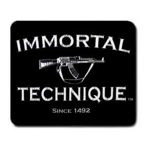 Immortal Technique Rap Hip Hop Music Mouse Pad Mats New