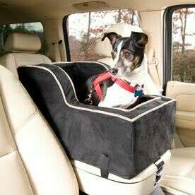 Pet Dog Car Easy Lookout Seat Carrier Snoozer 12lbs
