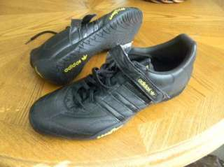 NEW ADIDAS Manama Men Black Shoe 13 Velcro Good Year