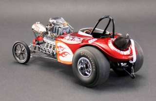 Fuel Altered Dragster Pure Hell   Limited Edition 1,254   118