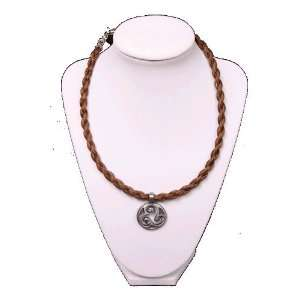 Brown Braided Horse Hair with Harmony Charm Everything