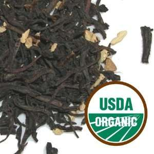Tavalon  Black Tea  Organic Black Ginger, 1 LBS Bulk Bag