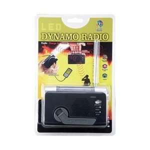 New Mitaki Japan® Wind Up FM/Weather Radio/LED Flashlight