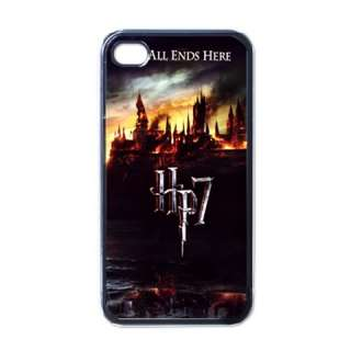 New* HOT HARRY POTTER iPHONE 4 Black CASE
