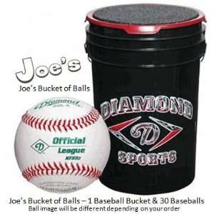 Joes USA Bucket of Diamond DSLL Little League Baseballs