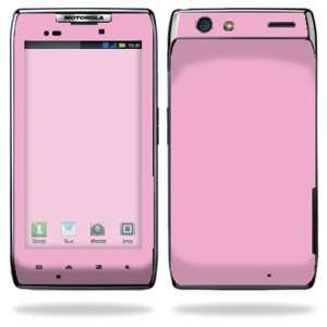 Razr Maxx Android Smart Cell Phone Skins   Glossy Pink Cell Phones