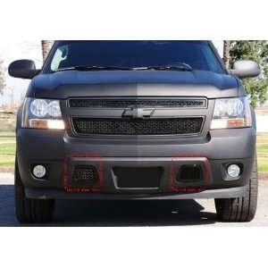 2007 2012 CHEVY AVALANCHE BLACK MESH BUMPER GRILLE GRILL