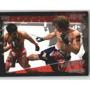 com 2010 Topps UFC Trading Card # 37 Alan Belcher (Ultimate Fighting