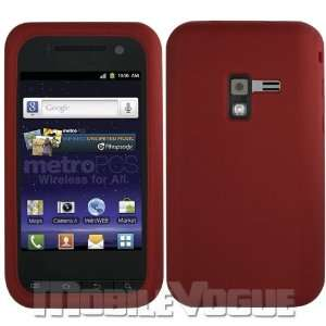 Red Fashionable Perfect Fit Soft Silicon Gel Protector Skin Cover For