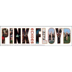 PINK FLOYD ECHOES STICKER Toys & Games