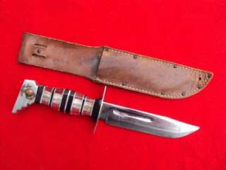 THE BEST WWII USMC Marine trench fighting knife theater made
