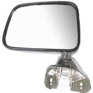 New Drivers Chrome Manual Side View Mirror Pickup Truck SUV
