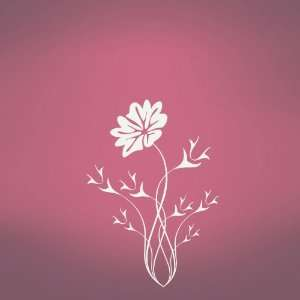 Vinyl Wall Art Decal Sticker Flower Thorns