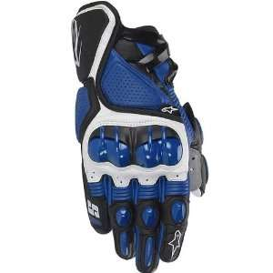 Alpinestars S 1 Mens Leather Sports Bike Racing Motorcycle Gloves