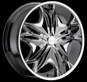 22 CHROME RIMS TIRE 5X115 CHRYSLER 300 DODGE CHARGER MAGNUM RWD