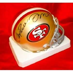 Jerry Rice & Joe Montana Hand Signed Autographed San Francisco 49ers