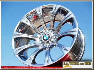 19 BMW M5 OEM E60 CHROME WHEELS RIMS SET 535I EXCHANGE
