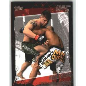 2010 Topps UFC Trading Card # 36 Brian Stann (Ultimate