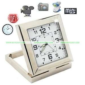 1280*960 HD Table Clock Camera with Motion Detect Function