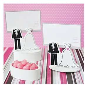 Bride & Groom Place Card Holder Favor Box