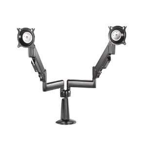 Chief K Series Height Adjustable Dual Swing Arm Desk Mount