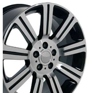 Stormer Style Wheels with Machined Face Fits Land Rover Range Rover
