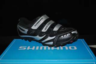 new mens Shimano SH M076 SPD mountain bike MTB cycling shoes 41 7.6