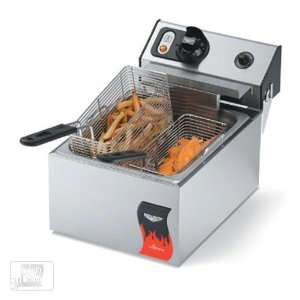 10 Lb Standard Duty Electric Fryer   Cayenne Series