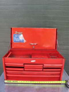 Snap on Vintage Metal Storage Tool Box Chest Snapon