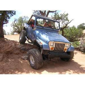 Jeep YJ Wrangler lift kit, SOA 6.5, for power steering Automotive