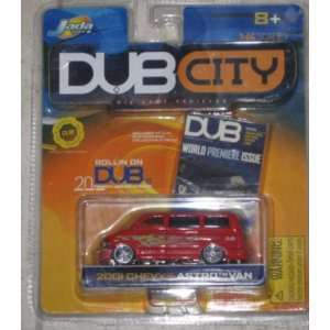 Jada Dub City 2001 Chevy Astro Van Toys & Games