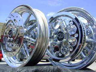HARLEY ROAD KING ULTRA ELECTRA GLIDE FLH CHROME WHEELS